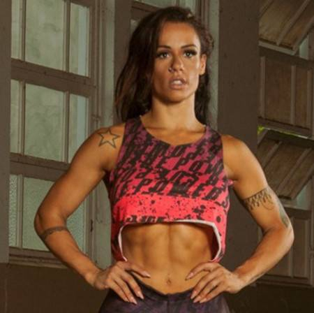 Cropped Fitness Viscolycra Nadador Mullet Print Power Rosa