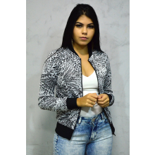 Jaqueta Estampada Jacquard